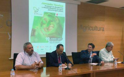 La Cátedra de Agricultura Sostenible presenta un proyecto para gestionar el agua de forma eficiente