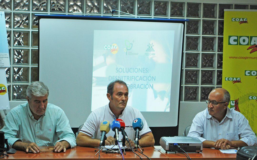 La recuperación del campo de Cartagena y Mar Menor pasa por la investigación y la tecnología