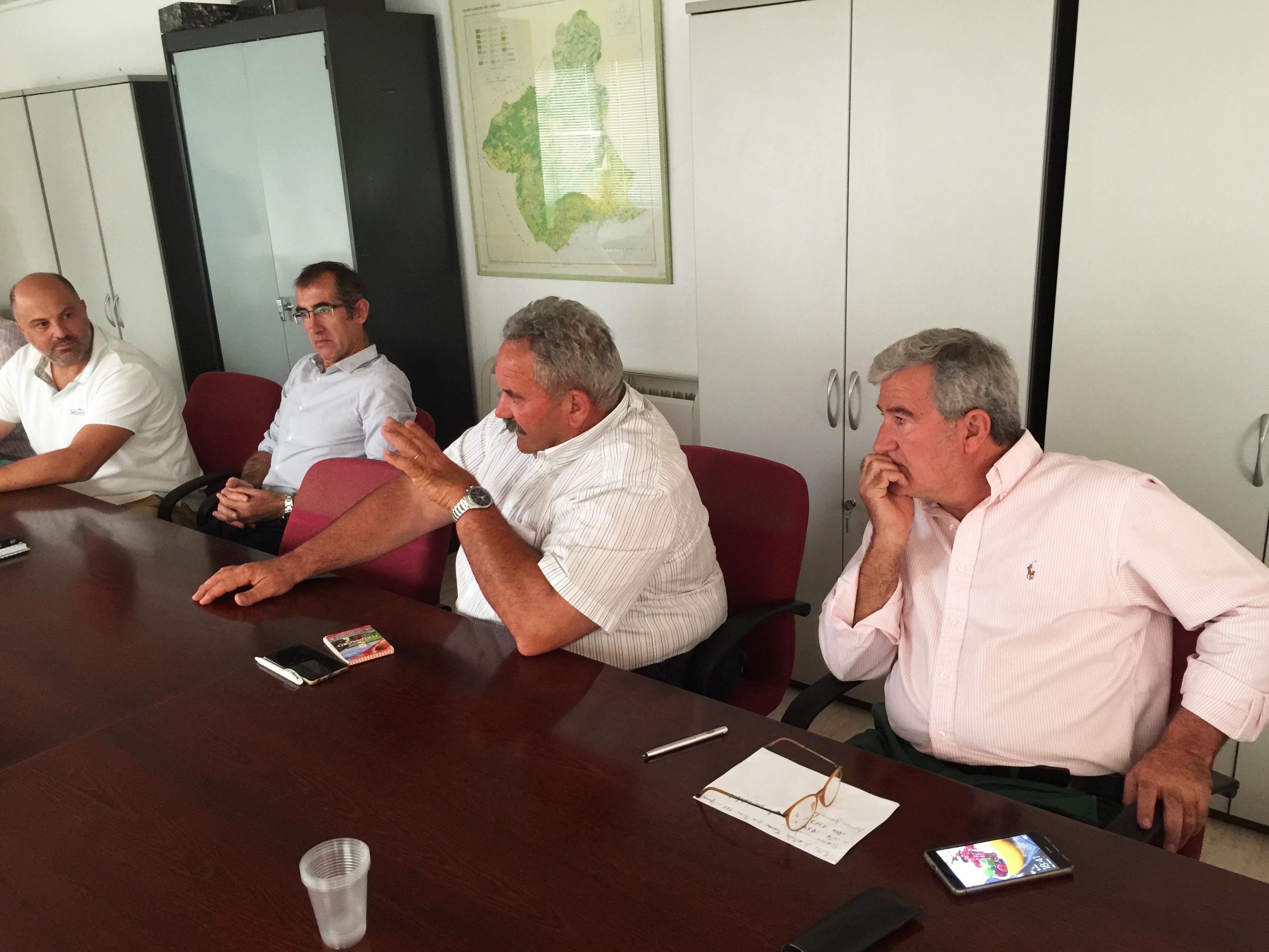 Reunión de la Cátedra con José Luis García Aróstegui