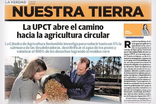La UPCT abre el camino hacia la agricultura circular