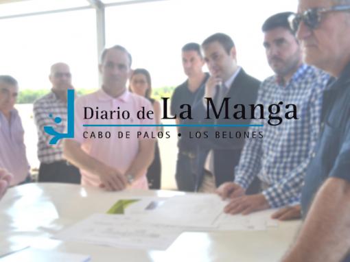 Los directores generales de Medio Ambiente y Agua visitan las instalaciones de la Cátedra de Agricultura Sostenible