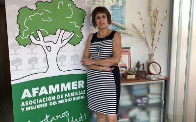 «Las mujeres del medio rural estamos concienciadas que la agricultura del futuro está condicionada a la sostenibilidad»