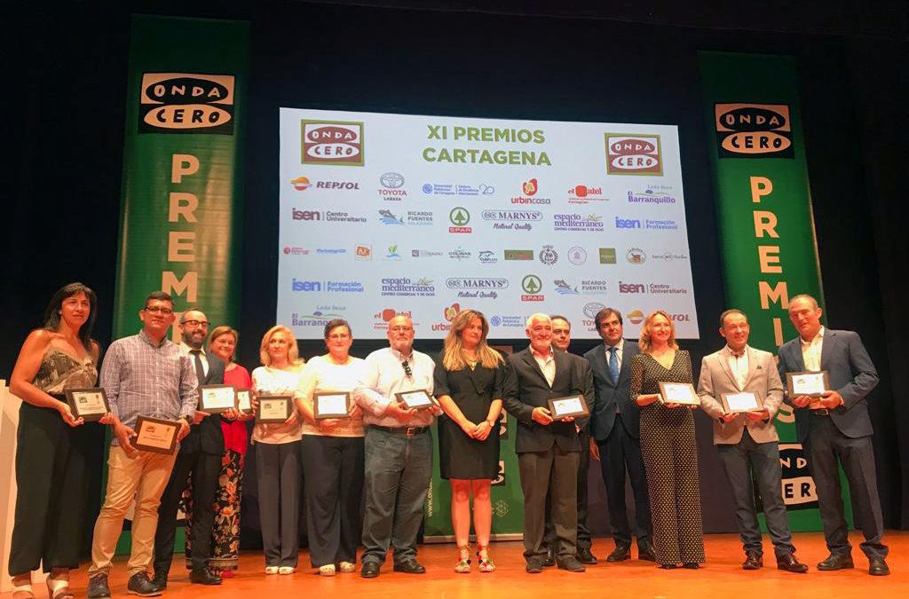 La Cátedra de Agricultura Sostenible de la UPCT recibe el premio Onda Cero Cartagena de Ciencia e Investigación