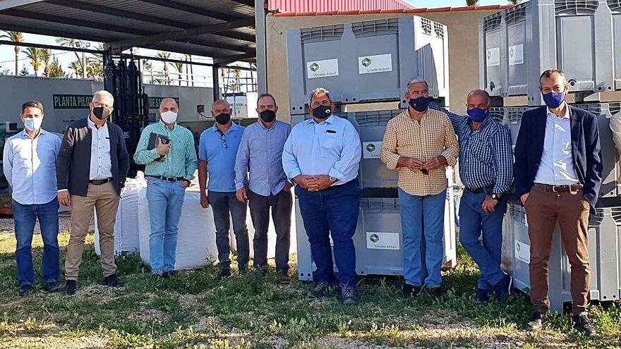 La Cátedra de Agricultura Sostenible prueba nuevos prototipos para la desnitrificación y desalación en el Campo de Cartagena